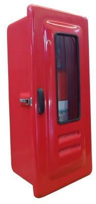 Abrigo para extintor de incêndio fibra