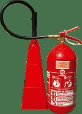 Extintor de incêndio co2 4 kg