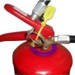 extintor de incêndio anel recarga