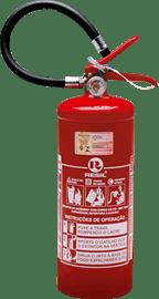 Extintor de incêndio automotivo 4 kg 3 anos