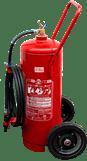 Extintor de incêndio sobre rodas espuma mecânica 50 t