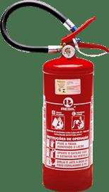 Extintor pó químico bc 4 kg