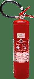 Extintor pó químico BC 6 kgs