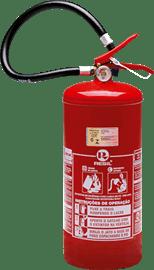 Extintor pó químico BC 8 kgs